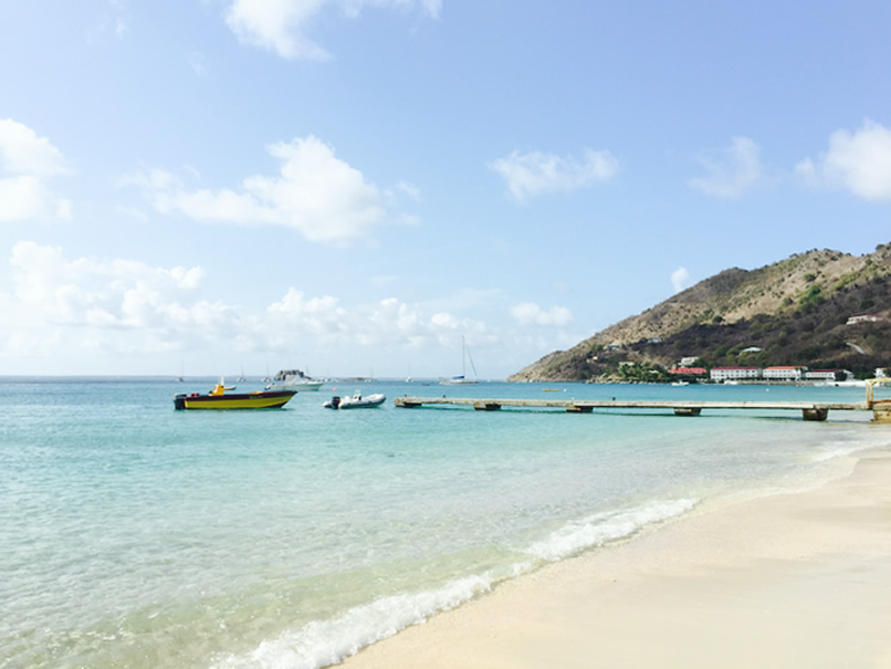 Gallery pic of Grand Case Beach in Saint Martin, St. Martin, French West Indies with Star Island Tours